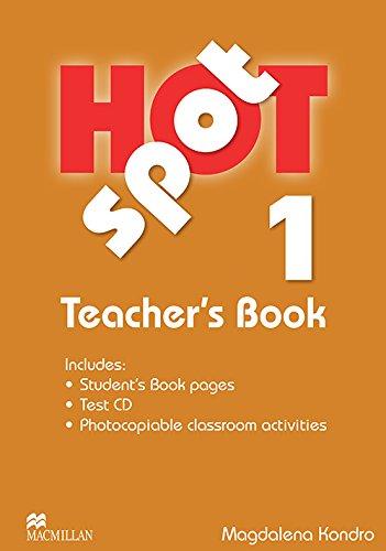 9780230717886: Hot Spot 1: Teacher's Book + Test CD