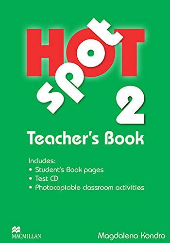 9780230717909: Hot Spot 2 Teacher's Book with Test CD