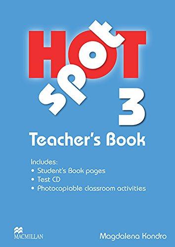 9780230717923: Hot Spot 3: Teacher's Book + Test CD