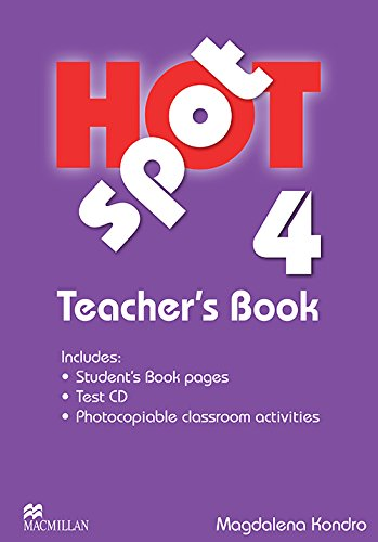 9780230717947: Hot Spot 4 Teacher's Book with Test CD