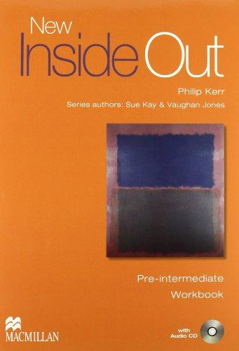 9780230718081: New inside out. Pre-Intermediate. Student's book-Workbook. Without key. Con CD Audio. Per le Scuole superiori