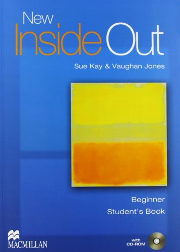 9780230718098: New inside out. Beginner. Student's book-Workbook. Without key. Per le Scuole superiori. Con CD Audio. Con CD-ROM