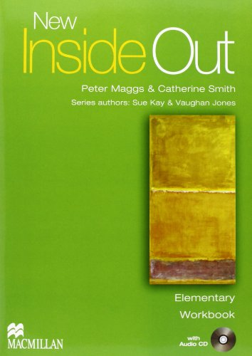 9780230718104: New inside out. Elementary. Student's book-Workbook. Without key. Con CD Audio. Per le scuole superiori