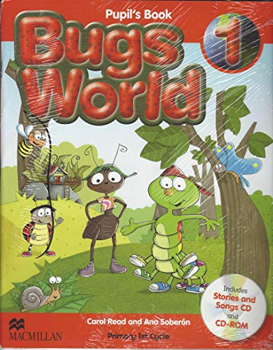 9780230718869: Pupil's book bugs world 1