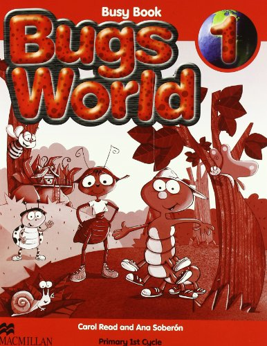 9780230718890: BUGS WORLD 1 Busy Book - 9780230718890