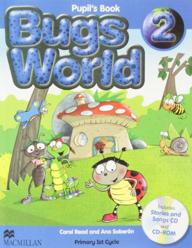 9780230718999: Bugs world 2 (pupil's book)