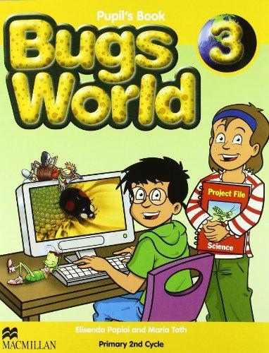 9780230719149: BUGS WORLD 3 Pb