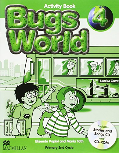 9780230719286: Bugs world 4 (activity book)edic. disponible: 9780230407527