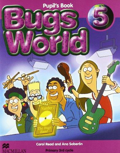 BUGS WORLD 5 PB (9780230719439) by MACMILLAN