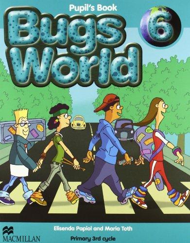 9780230719576: Bugs World 6 Pupils Book