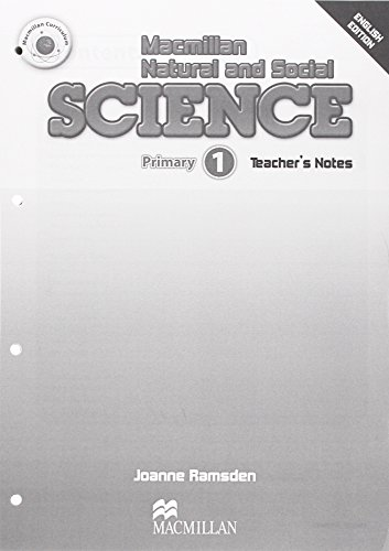 9780230719989: Macmillan Natural and Social Science: Teacher's Book Level 1