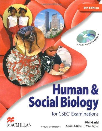 9780230721005: Human & Social Biology for CSEC Examinations Pack