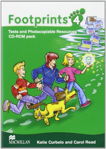 9780230722248: Footprints 4: Photocopiables DVD