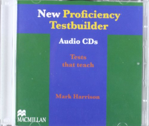 9780230723375: New Proficiency Testbuilder: Class Audio CDs