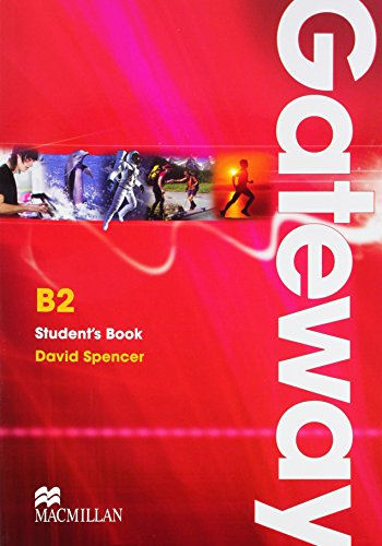9780230723566: Gateway. B2. Student's book. Per le Scuole superiori