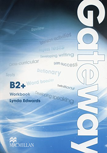 9780230723634: Gateway B2+: Workbook