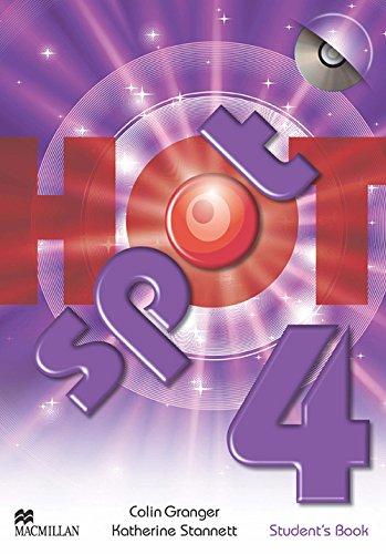 9780230723771: Hot spot. Student's book. Con espansione online. Per la Scuola media. Con CD-ROM: HOT SPOT 4 Sts Pack