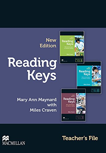 9780230724808: Reading Keys New Edition Teacher's File Pack: Skills and Strategies for Effective Reading