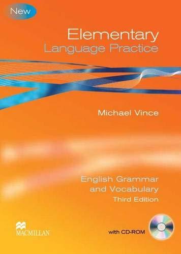 9780230726963: Elementary Language Practice: Sb + Key