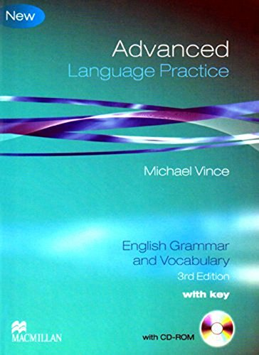 9780230727069: Advanced Language Practice: English Grammar and Vocabulary.
