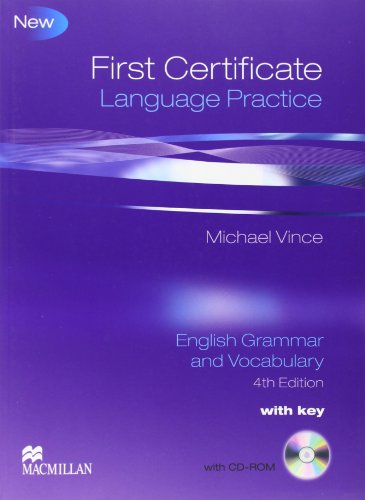 9780230727113: First Certificate Language Practice: Student Book Pack with Key