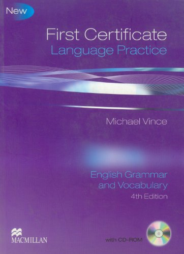 9780230727120: First Certificate Language Practice: Student Book Pack Without Key