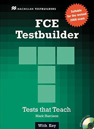 9780230727892: First certificate testbuilder. With key. Con CD Audio. Per le Scuole superiori
