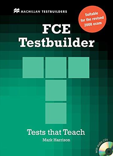 9780230727908: New FCE Testbuilder: Student Book without Key