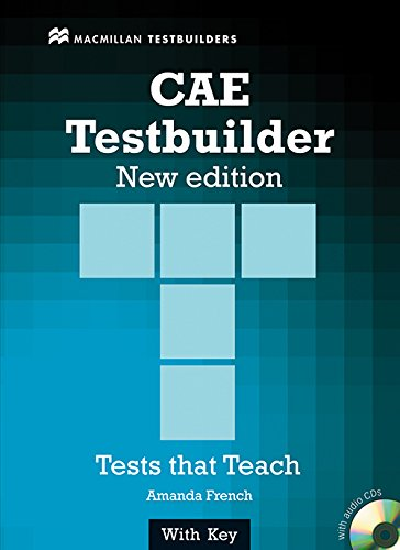 9780230727946: CAE TESTBUILDER Sts Pack +Key N/E: Student Book Pack with Key
