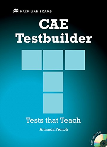9780230727953: New CAE Testbuilder Student Book and audio CD pack without Key