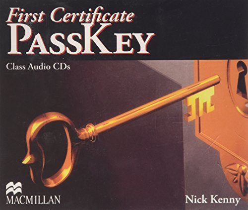 9780230729605: First Certificate Passkey Cdx3