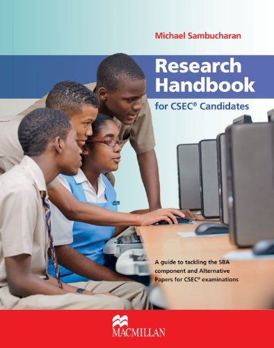 9780230730601: Research Handbook for CSEC Candidates: A Guide to Tackling the SBA Component for All CSEC Subjects