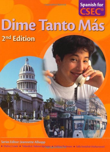 9780230731752: Dime: Spanish for Caribbean Secondary Schools Student's Pack 4: Dime Tanto Mas