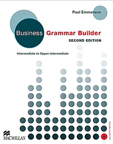9780230732544: Business grammar builder. Grammar reference. Con CD Audio. Per le Scuole superiori