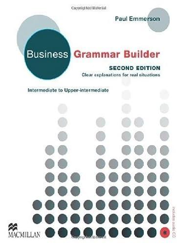 9780230732544: Business Grammar Builder
