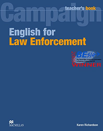 9780230732575: English for Law Enforcement