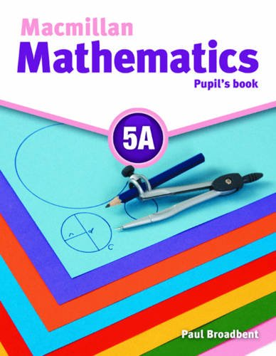 9780230732919: Macmillan Mathematics 5 Pupil's Book A with CD ROM