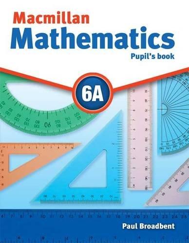 9780230732926: Macmillan Mathematics 6 Pupils Book A with CD-ROM