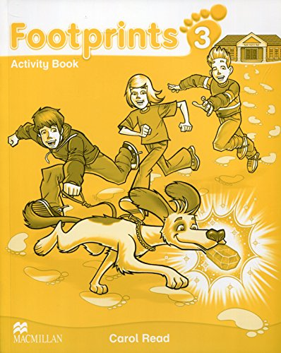 9780230733732: Footprints 3 Activity Book B1