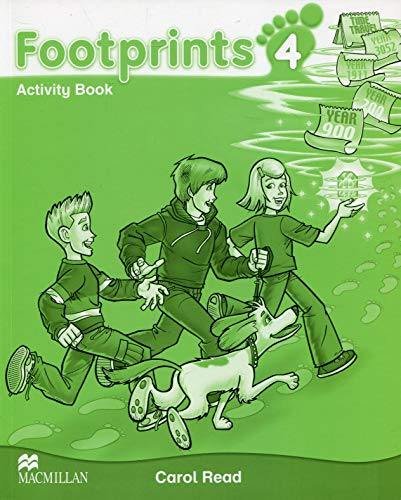 9780230733749: FOOTPRINTS ACTIVITY BOOK 4
