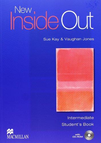 9780230733831: New inside out. Intermediate. Student's book-Workbook. Without key. Per le Scuole superiori. Con CD Audio. Con CD-ROM