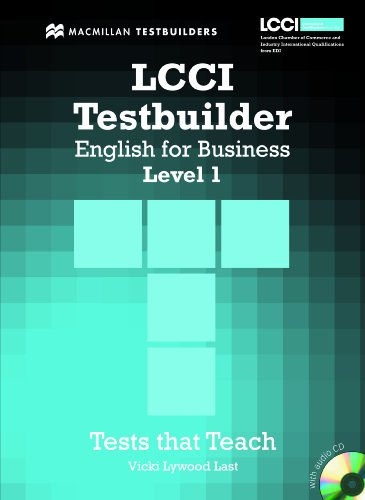 9780230733862: LCCI English for Business Testbuilder 1: Student Book + Audio CD