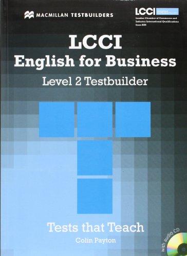 9780230733893: LCCI Testbuilder 2 with Audio CD