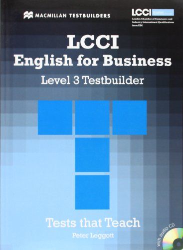 9780230733923: LCCI English for Business Testbuilder 3: Student Book + Audio CD