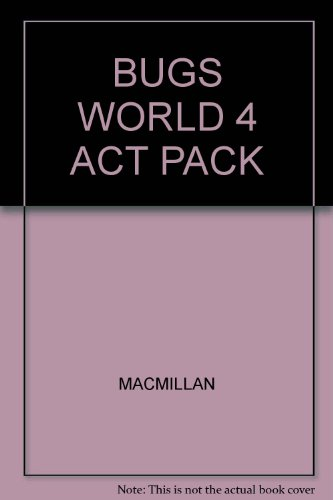 9780230735057: BUGS WORLD 4 ACT PACK
