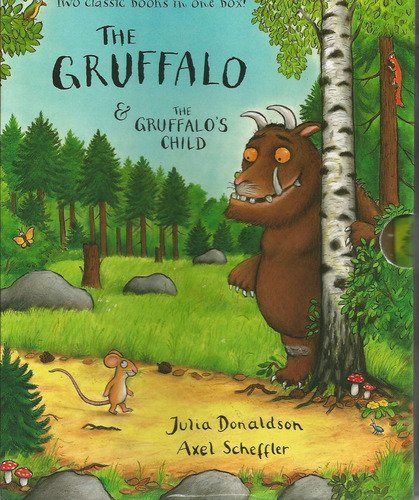 9780230736252: Gruffalo and the Gruffalo's child boxed set, The