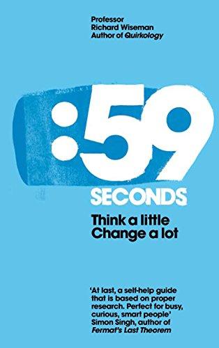 9780230744295: 59 Seconds: Think a Little, Change a Lot