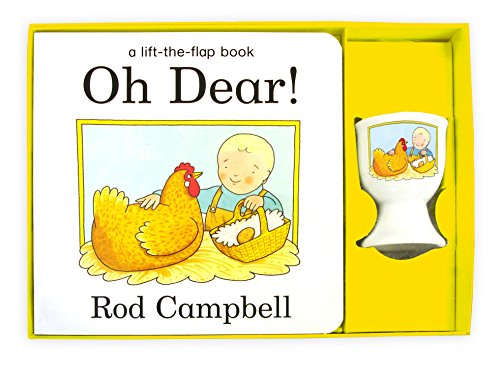 9780230757615: Oh Dear! Book and Egg Cup Set
