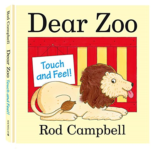 9780230757875: Dear Zoo Touch and Feel Book
