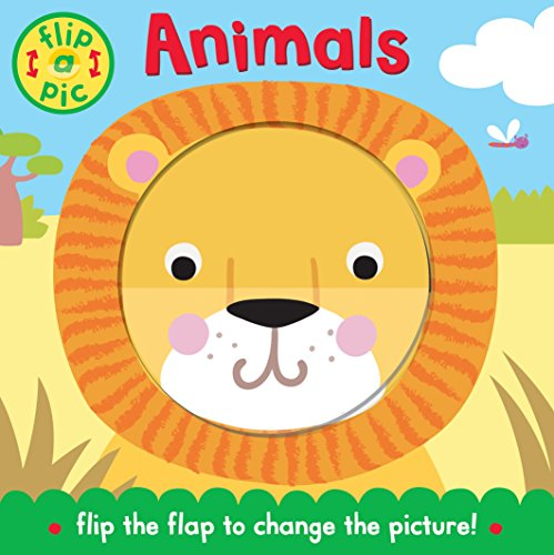 9780230758988: Flip-a-Pic: Animals: A lift-the-flap board book